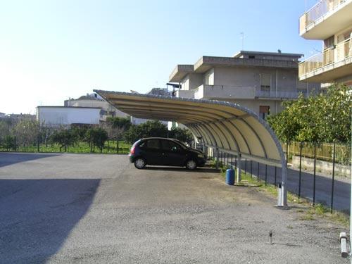 La Canalplast  COPERTURE PER PARCHEGGI  pensiline, carport, posti auto, teli ombreggianti ...